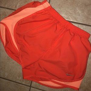 Nike neon shorts